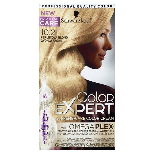 Schwarzkopf Color Expert farba na vlasy Perleťovoplavý 10.21