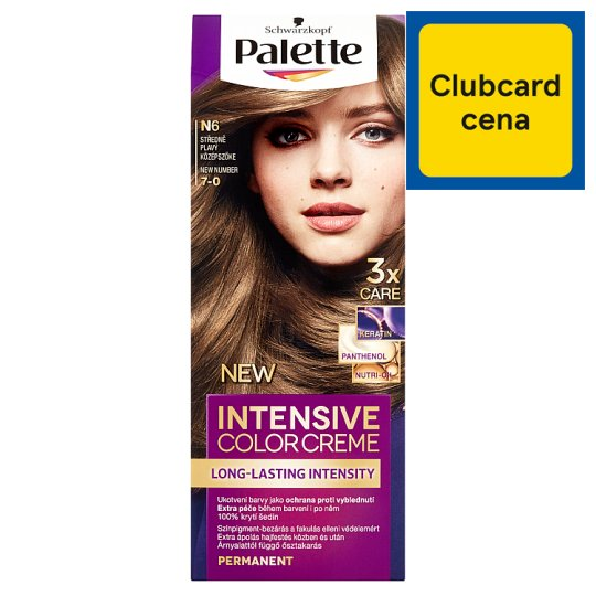 Schwarzkopf Palette Intensive Color Creme farba na vlasy Stredneplavý 7-0 (N6)