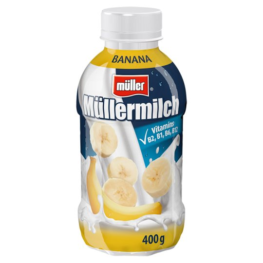 Müller Müllermilch Milk Drink with Banana Flavour 400 g