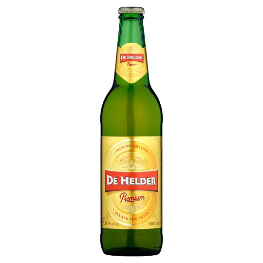 De Helder Premium Light Lager Beer 500 ml