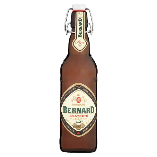 Bernard Festive Lager with Added Yeast Fine 0.5 L