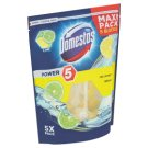 Domestos Power 5 Lime Solid Toilet Block 5 x 55 g