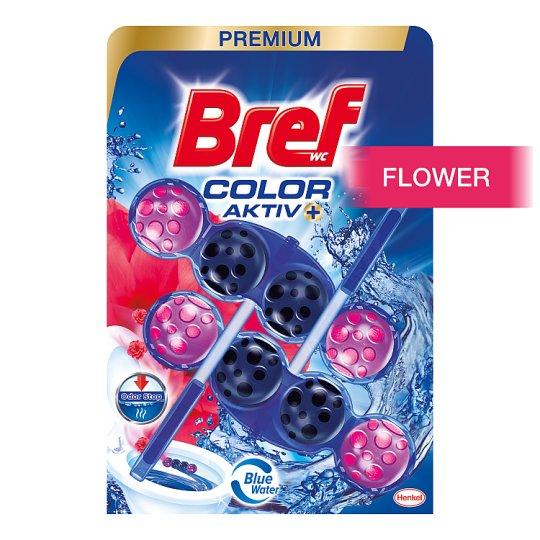 Bref Color Aktiv Fresh Flowers tuhý WC blok 2 x 50 g