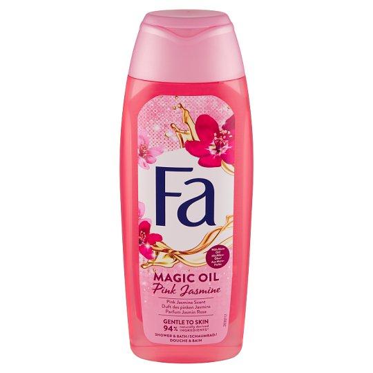 Fa Foam Bath Magic Oil Pink Jasmine Scent 500 ml