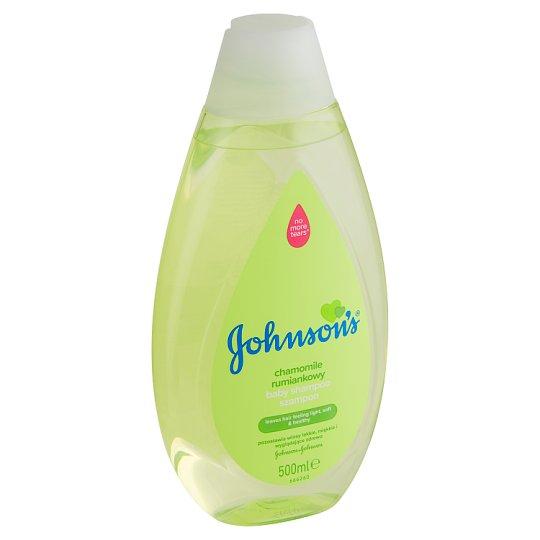 Johnson's Detský šampón s harmančekom 500 ml
