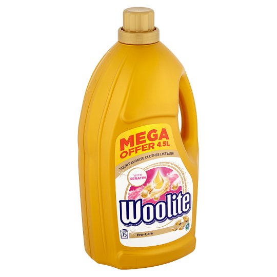 Woolite Pro-Care Liquid Laundry Detergent 75 Washes 4.5 L