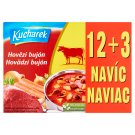Kucharek Beef Broth 15 pcs 150 g