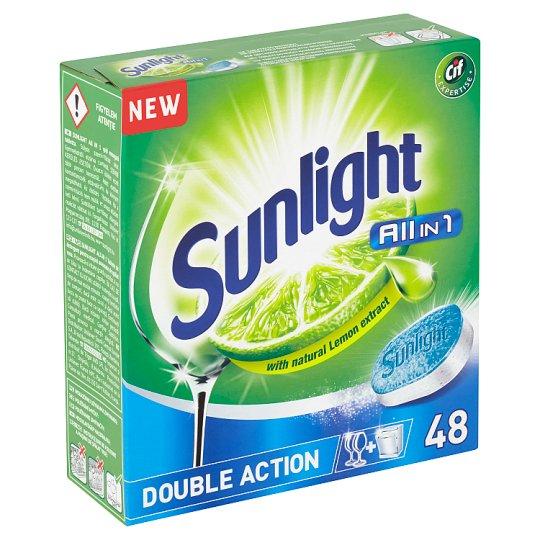 Sunlight All in 1 Tablety do umývačky riadu 48 ks 840 g