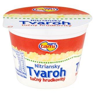 Agro Tami Nitriansky tvaroh tučný hrudkovitý 250 g