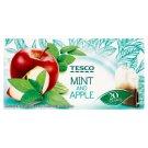 Tesco Aromatizovaný bylinno-ovocný čaj s mätou a jablkom 20 x 1,5 g