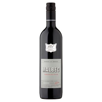Tesco Finest Argentinean Malbec Red Wine 0.75 L