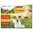 Friskies DOG VITAFIT Choice of Beef Chicken and Lamb in Juice 12 x 100 g