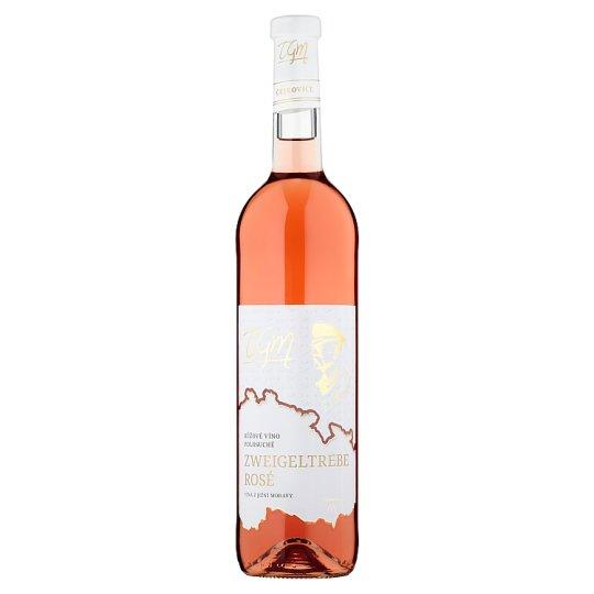 TGM Zweigeltrebe Rosé ružové víno polosuché 0,75 l