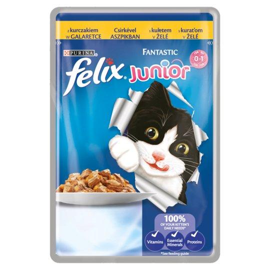 FELIX Fantastic Junior s kuraťom v želé 100 g