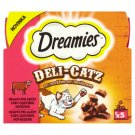 Dreamies Deli-Catz Feed for Cats with 80% Tasty Beef 5 x 5 g