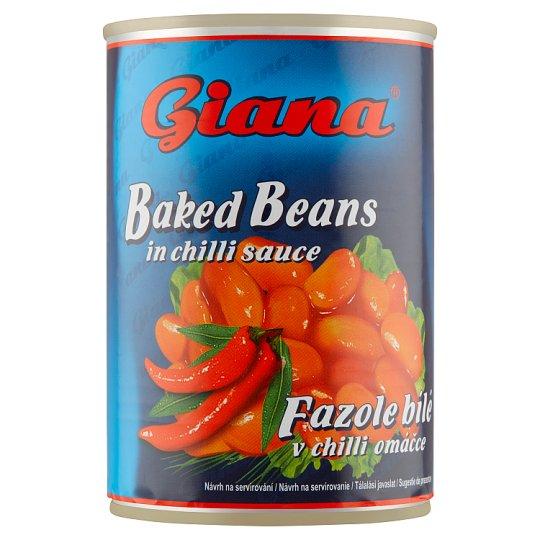 Giana Fazuľa biela v chilli omáčke 410 g