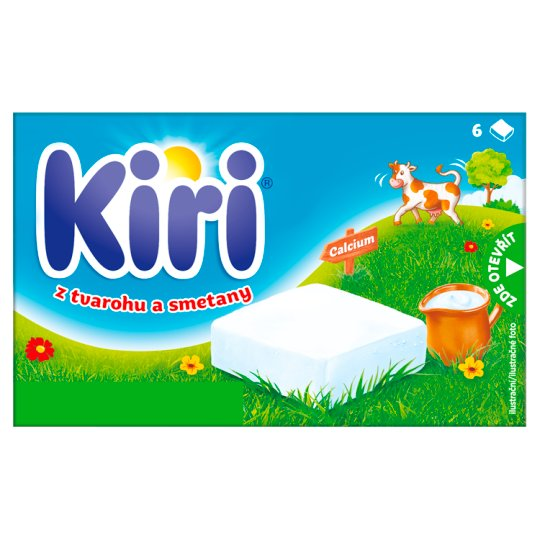 Kiri Spreadable Processed Cheese 100 g