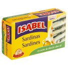Isabel Sardines in Olive Oil 125 g