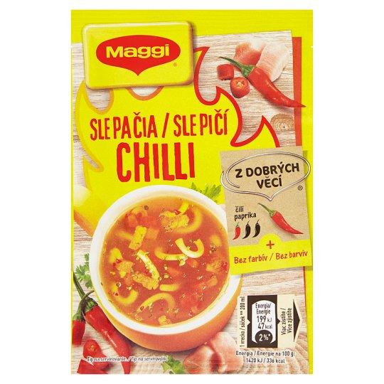 MAGGI Chutná pauza Slepačia chilli instantná polievka vrecko 14 g