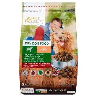 Tesco Pet Specialist S jahňacinou a ryžou 2 kg