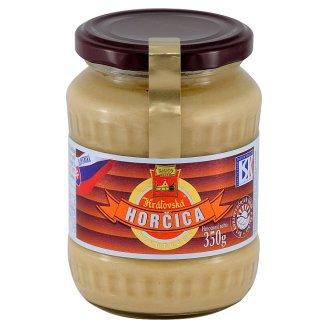 Snico Kráľovská Horčica plnotučná 350 g