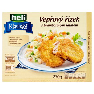 Heli Klasické Pork Schnitzel with Potato Salad 370 g