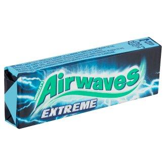 Wrigley's Airwaves Extreme žuvačka bez cukru s výraznou príchuťou mentolu a eukalyptu 14 g