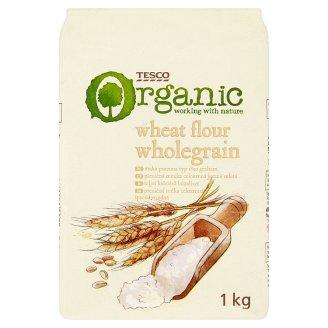 Tesco Organic Pšeničná múka celozrnná špeciál stredná 1 kg