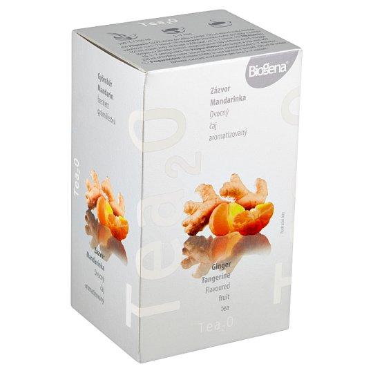 Biogena Tea₂O Zázvor & mandarínka ovocný čaj aromatizovaný 20 x 2,5 g