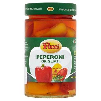Pucci Grilované papriky v slnečnicovom oleji 290 g