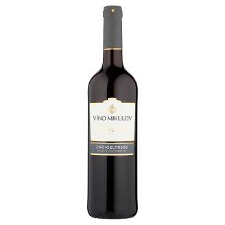 Víno Mikulov Zweigeltrebe víno červené suché 0,75 l