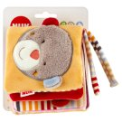 NUK Toy Teddy Bear Book 3 m+