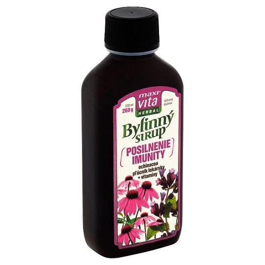 MaxiVita Herbal Hebal Syrup Boost Immunity Supplement 200 ml