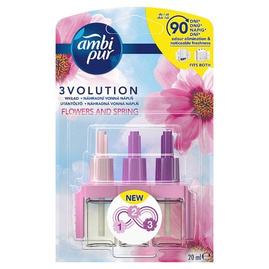 Ambi Pur 3Volution Flowers & Spring Náplň 20 Ml