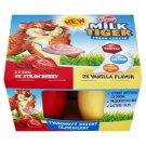 Zott Milk Tiger Jahodový a vanilková príchuť 4 x 50 g