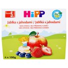 HiPP Apples with Strawberries 4 x 100 g