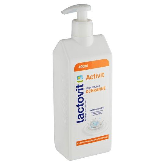 Lactovit Activit ochranné telové mlieko 400 ml