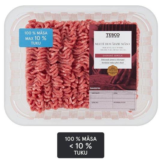 Tesco Mleté hovädzie mäso 0,500 kg