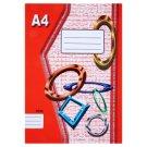 Papírny Brno 464e Lined Exercise Book A4 60 Sheets