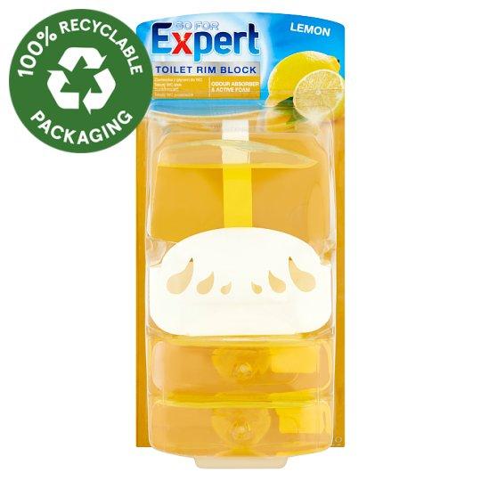 Go for Expert Lemon tekutý WC prostriedok 3 x 55 ml