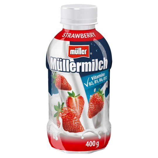 Müller Müllermilch Milk Drink with Strawberry Flavour 400 g