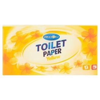 Springforce Yellow toaletný papier 2 vrstvy 8 kotúčov