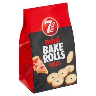 7 Days Bake Rolls Mini Crispy Chips Flavoured Pizza 80 g