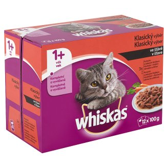 Whiskas Classic Selection in Juice 12 x 100 g