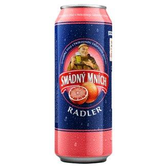 Smädný Mních Radler Beer Alcoholic Drink Flavoured with Grapefruit 500 ml