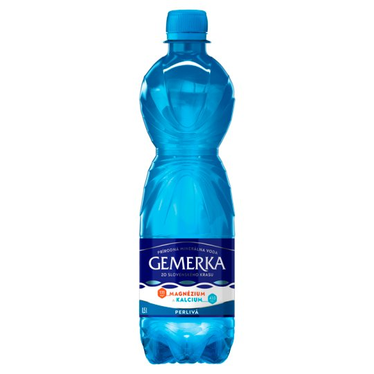 Gemerka Magnesium + Calcium Natural Mineral Water Sparkling 0.5 L