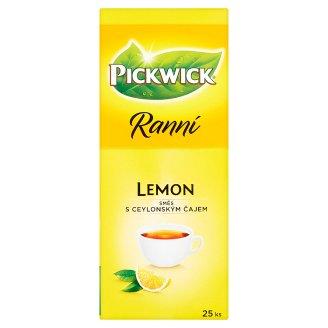 Pickwick Ranní Čierny čaj aromatizovaný s citrónovým oplodím 25 x 1,75 g