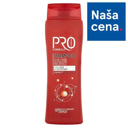 Tesco Pro Formula Colour protect šampón 400 ml