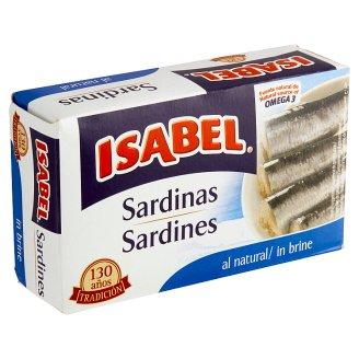 Isabel Sardinky v mierne slanom náleve 125 g