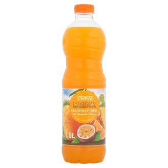 Tesco Nealkoholický nesýtený viacdruhový ovocný nápoj s príchuťou mangostánu 1,5 l